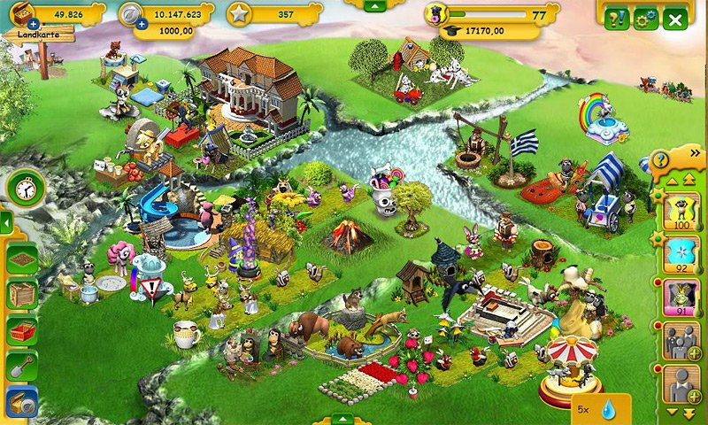 Farmerama screenshot 01