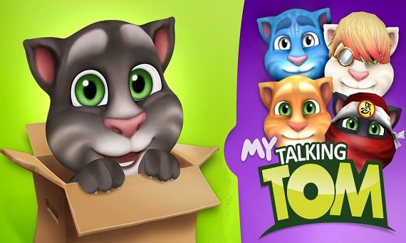 Android game - My Talking Tom