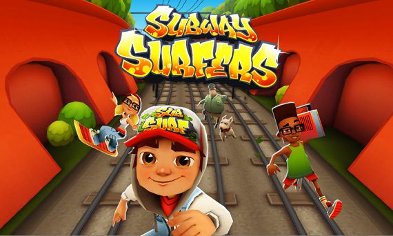 Android game - Subway Surfers