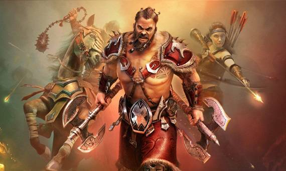Android game - Vikings: War of Clans