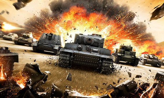 The 4-th place - World of Tanks